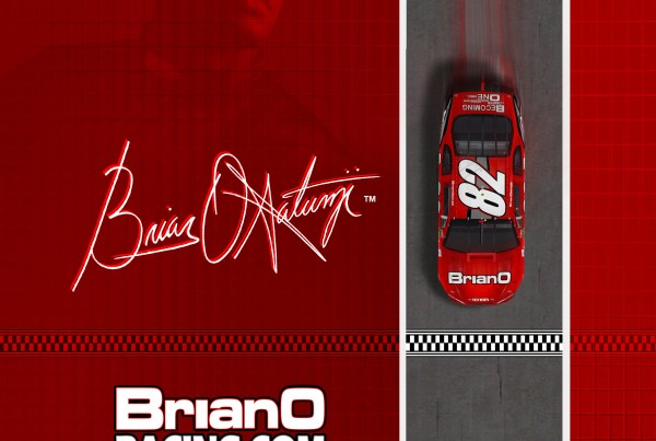 Brian O Racing NASCAR Backcover