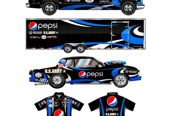 Pepsi Line Art Thumb