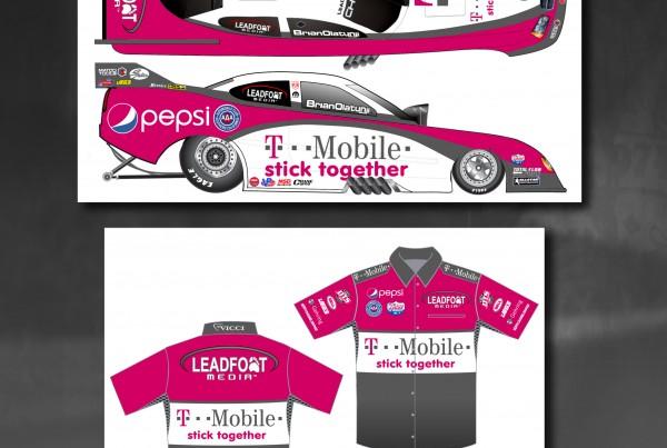 T-Mobile Line Art